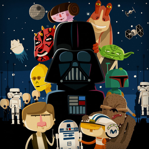 Movistar Video Case Star Wars